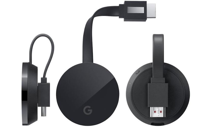 Chromecast Ultra con streaming 4k a un precio de 69$