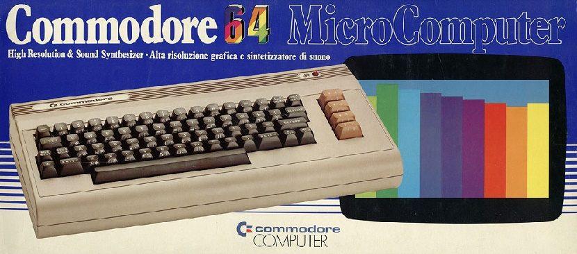 Caja de Commodore 64