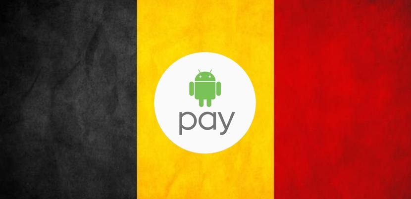 Android Pay ya está disponible en Bélgica