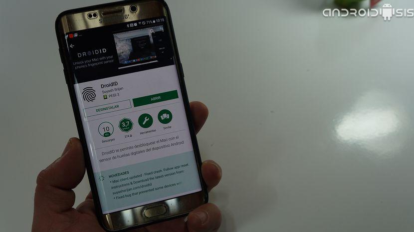 Cómo desbloquear MAC con el sensor de huellas de tu Android