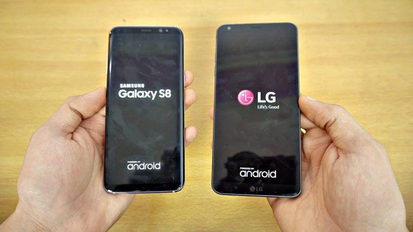 Prueba de velocidad: Galaxy S8 vs LG G6