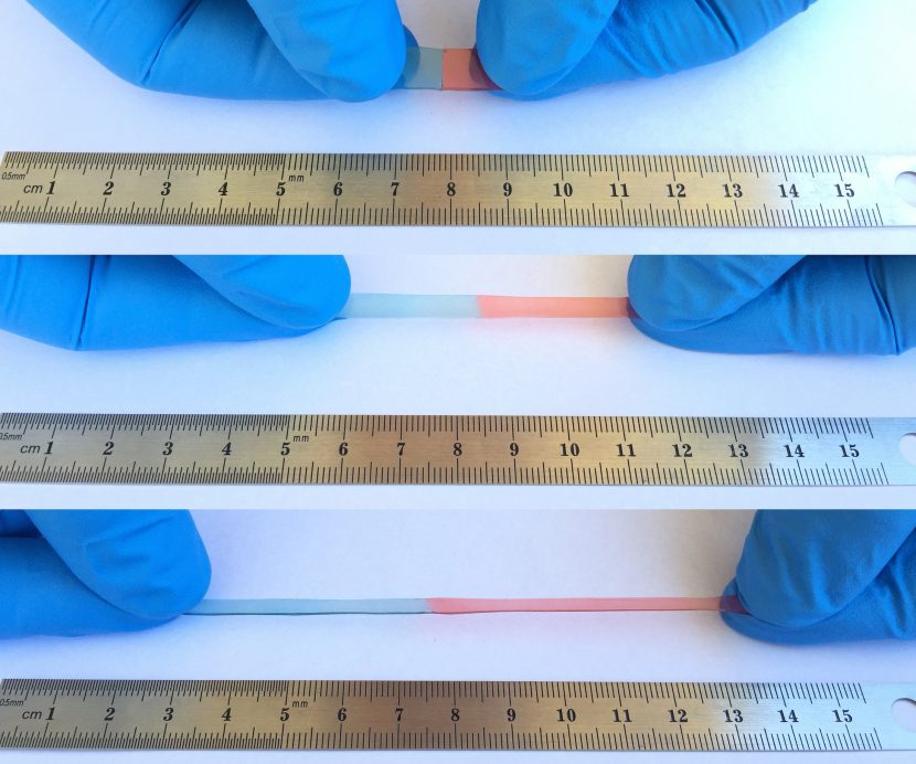 Material autorreparable desarrollado por los científicos de la Universidad de California