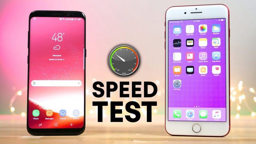 prueba velocidad pixel xl vs iphone 7 plus