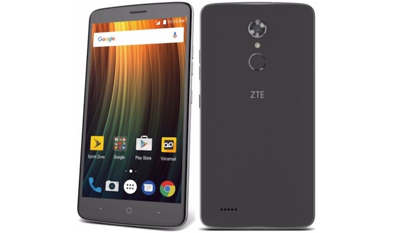 zte max xl large smartphone with big battery for only 120